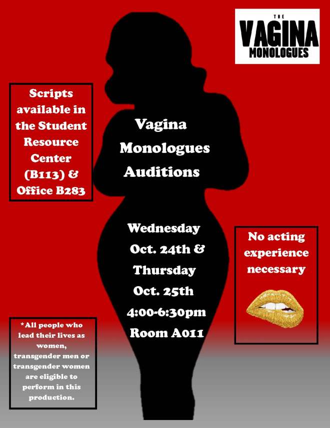 Audition Flyer 2