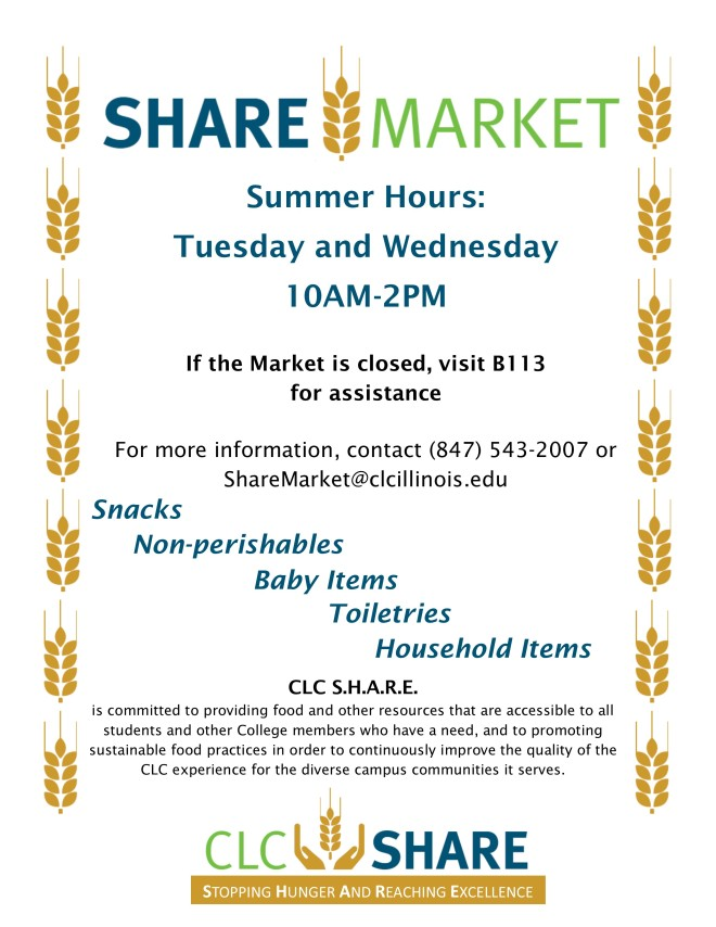 SHARE Market Hours Flyer